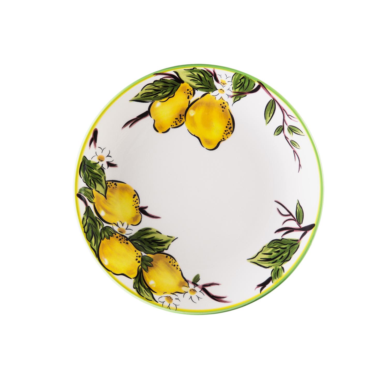 Набор обеденный 8 предметов ЛимоныОбеденный набор от Magia Gusto украсит каждый стол и создаст неповторимый уют. Качественный, стильный и яркий, он станет вашим любимчиком.<br>