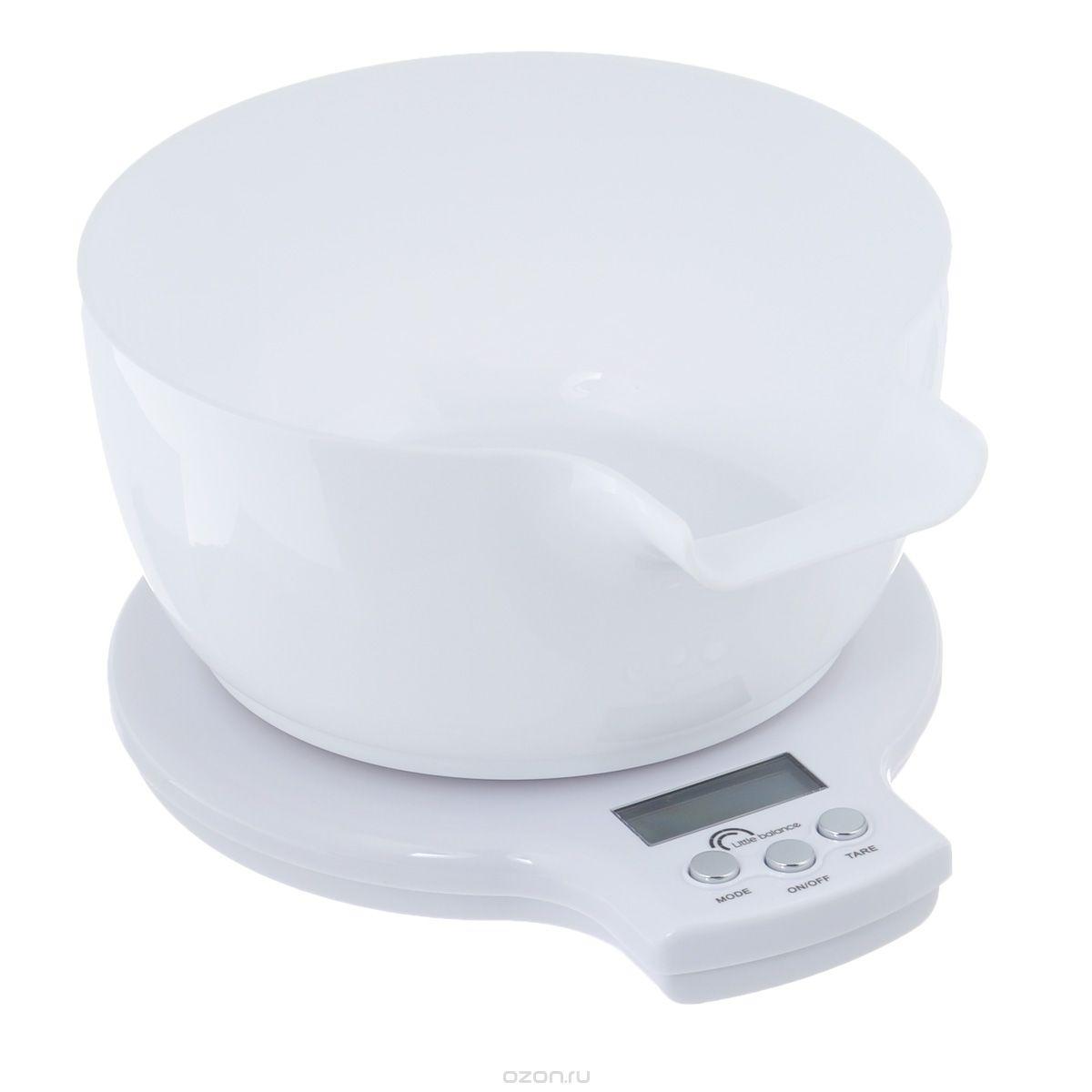 Весы кухонные до 5 кг Meringue +BolКачественные весы и безмены от бренда Little Balance изготовлены из стекла. Они будут прекрасными помощниками в приготовлении еды  и прослужат хозяйкам долгие годы.<br>