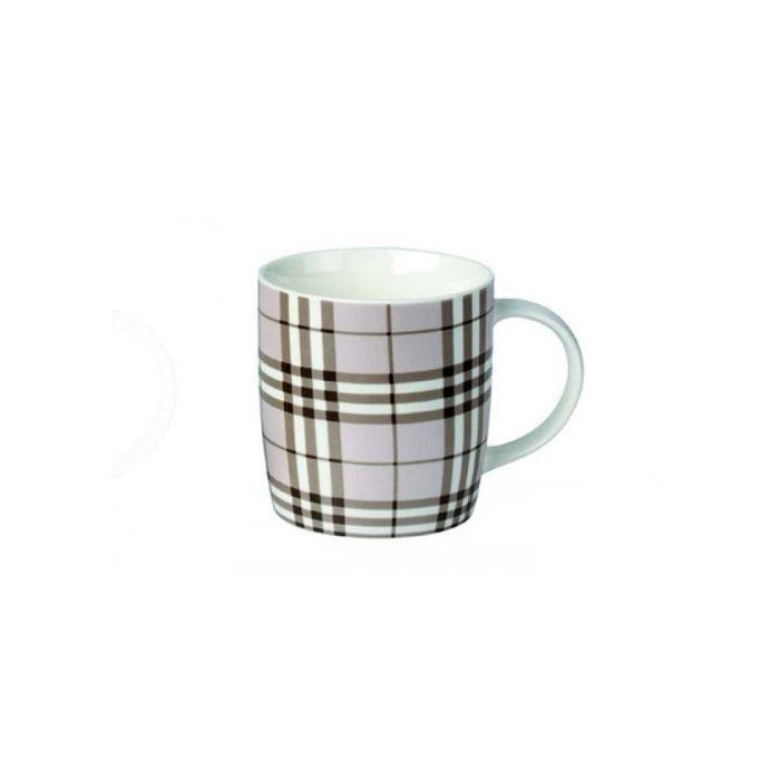 Кружка фарф 350мл бочка Шотландка 1 ТМ RainbowКружка Шотландка 1 ТМ Рейнбоу с лаконичным и простым принтом станет отличным выбором для оснащения домашней кухни. Посуда этой серии отличается высоким качеством исполнения и гармонично сочетается с остальной посудой. Изящная форма и толстые стенки удобны в эксплуатации и уходе. Кружку можно мыть в посудомоечной машине с прочей посудой. Изделие выполнено из качественного фарфора, который изготавливается по новейшей технологии без использования токсичных и вредных веществ, а также обеспечивает высокую прочность и долговечность. Кружка Шотландка 1 ТМ Рейнбоу подходит для сервировки чая, кофе и других горячих и холодных напитков.<br>