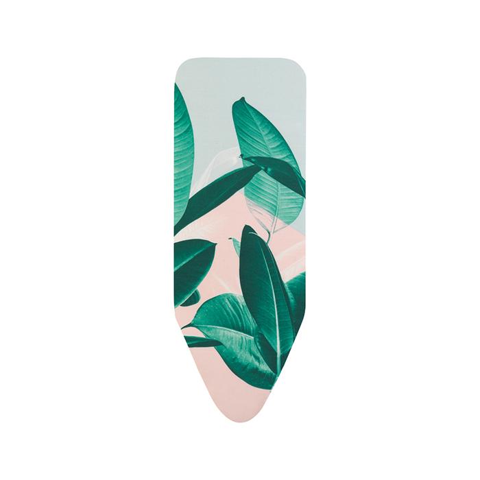 Чехол для гладильной доски Brabantia PerfectFit 124х45 см, Тропические листья