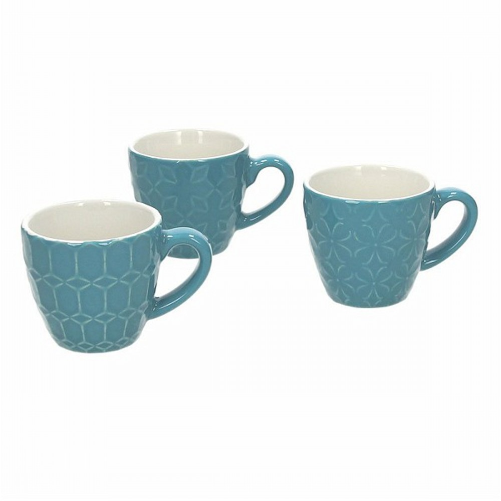 Чашка кофейная 90 мл RELIEF KUB AZКружка сделана из керамики выского качества. Итальянские производители позаботились не только о качестве изделия, но и о дизайне. Оригинальный дизайн и лаконичная форма позволит этому элементу посуды отлично вписаться в любой ваш кухонный интерьер.<br>