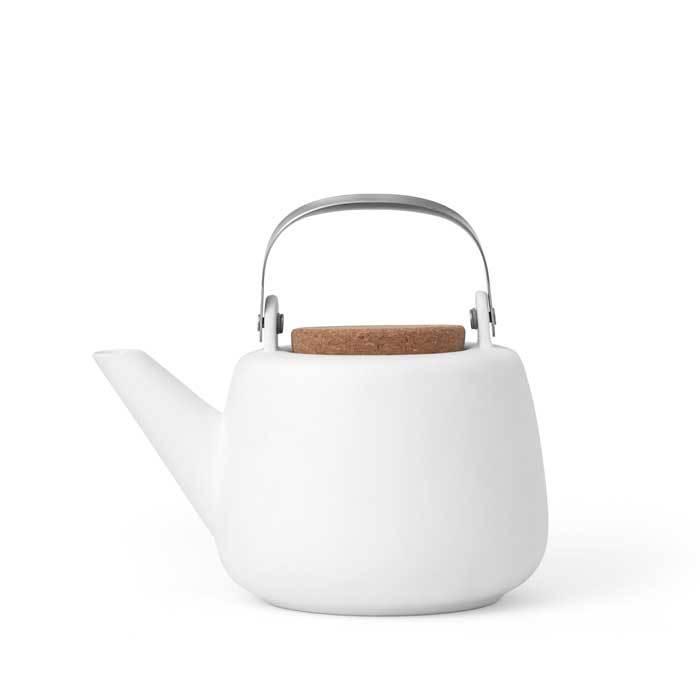 Чайник заварочный с ситечком 1,2л