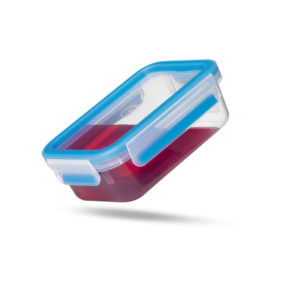 Контейнер пластиковый , с двумя отделениями, 0,55л CLIP &amp; CLOSEКонтейнер с независимыми отделениями CLIP &amp; CLOSE от EMSA герметичен, гигиеничен, безопасен. Он пригодится каждой хозяйке, которая заботится о здоровье своей семьи.<br>
