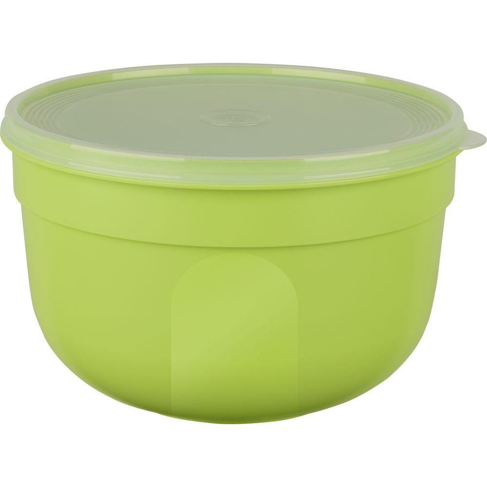 Контейнер SUPERLINE круглый 1,25 л зеленыйКонтейнер SUPERLINE круглый 1,25 л зеленый<br>