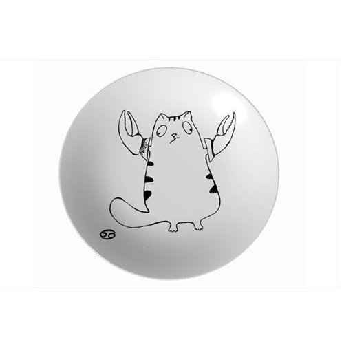 Тарелка Знак зодиака Рак 250 ммТарелка Рак от МАТЕО - это посуда с авторским дизайном. Такая необычная посуда станет оригинальным украшением стола, отличным вариантом для сервировки и просто потрясающим подарком мужчине, женщине и ребенку.<br>