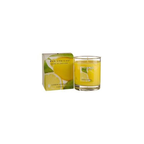 Свеча ароматическая Вербена лимонная стекло/картон 7х8х7 желтыйСвеча ароматическая Вербена лимонная стекло/картон от английской компании Wax Lyrical.  Уникальное средство для устранения неприятного запаха. Благодаря технологии Odouraze , которая находит молекулы неприятного запаха, окутывает их и полностью уничтожает. Придаст воздуху слегка терпкий, освежающий, с заметными цветочными аккордами аромат.<br>