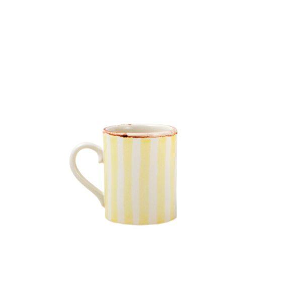 Кружка 300 мл в ассорт.Бокал из серии Страйп изготовлен из качетвенной керамики российского производства. Украшен ручной росписью. Имеет большой объем и придется по душе любителям чая. Оригинальный и необычный. Станет отличным подарком к любому празднику.<br>