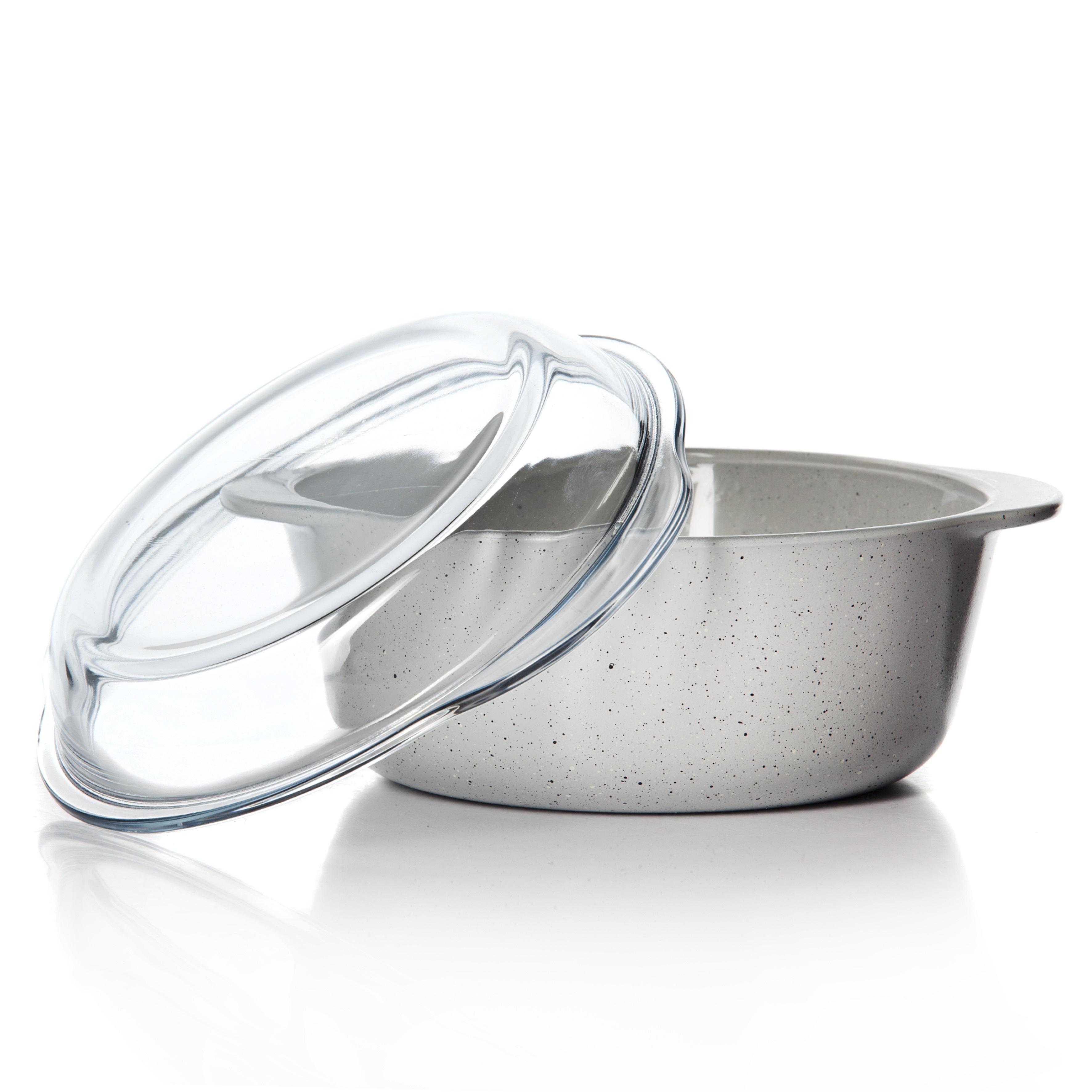 Посуда для СВЧ с крышкой 1450 мл.<br>