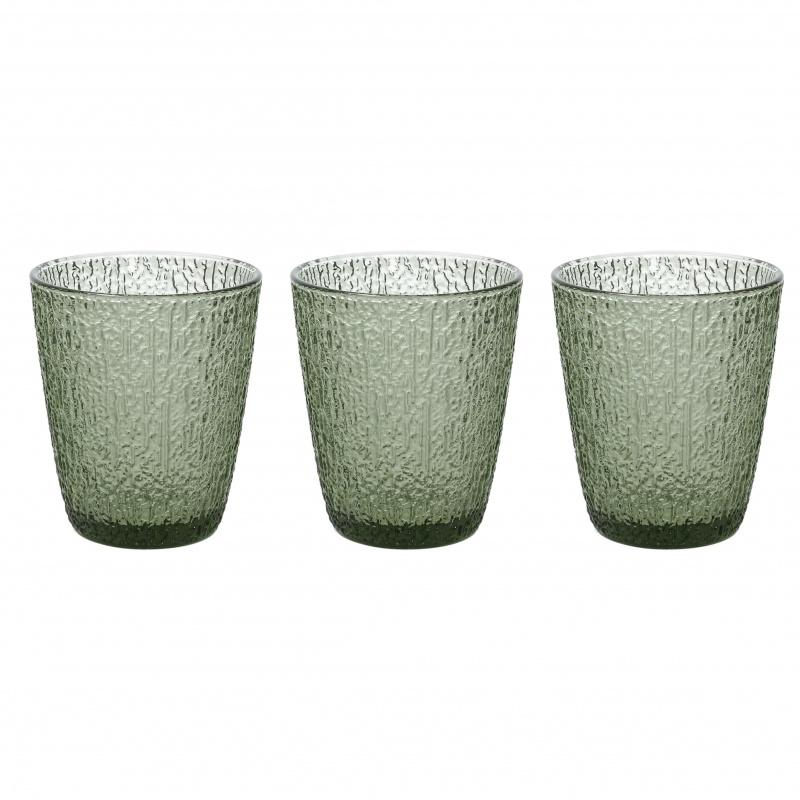 Набор стаканов для напитков 280 мл Tognana Davor зелёный