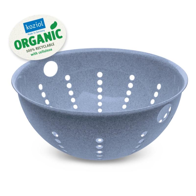 Дуршлаг Palsby organic 5 л синий