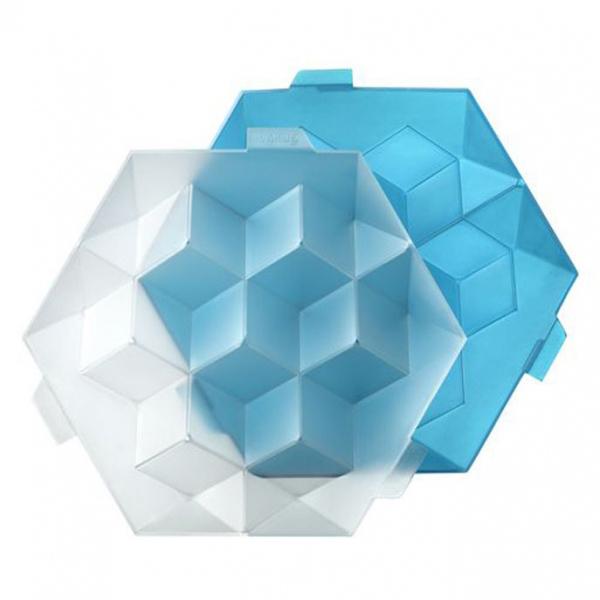 Форма для льда КубикиФормы для льда от бренда Lekue качественны и удобны. Благодаря силикону они выдерживают температуру до -60 градусов. Имеют компактые размеры и яркие цвета<br>
