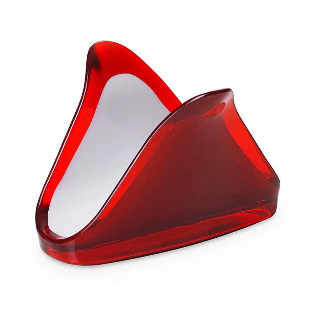 "Подставка для салфеток Omada "",Square"", красная"