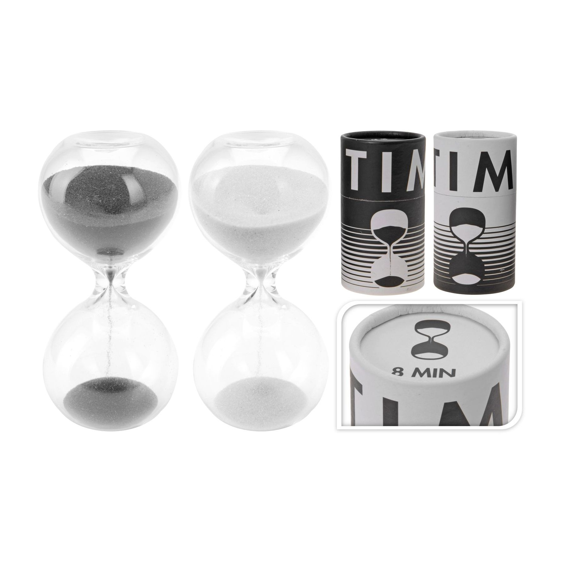 Часы песочные декоративные 4,5х9,5 на 8 мин.часы песочные декоративные, разм. 4,5х9,5 см, на 8 минут<br>