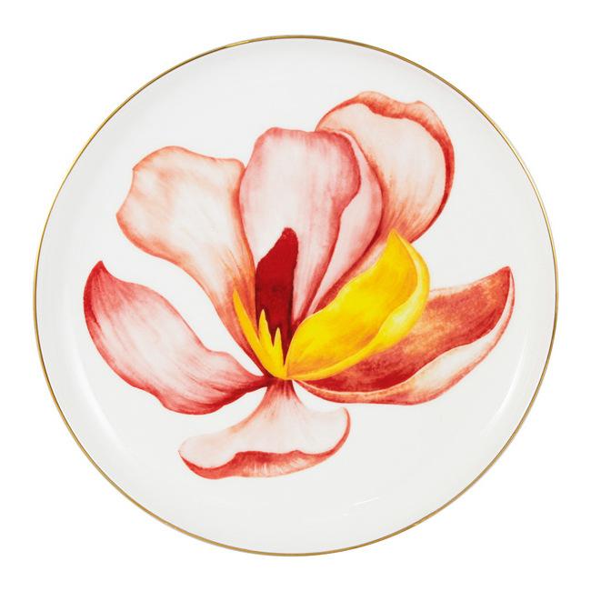 Тарелка десертная 19 см Magnolia Anna Lafarg Emily Flowers