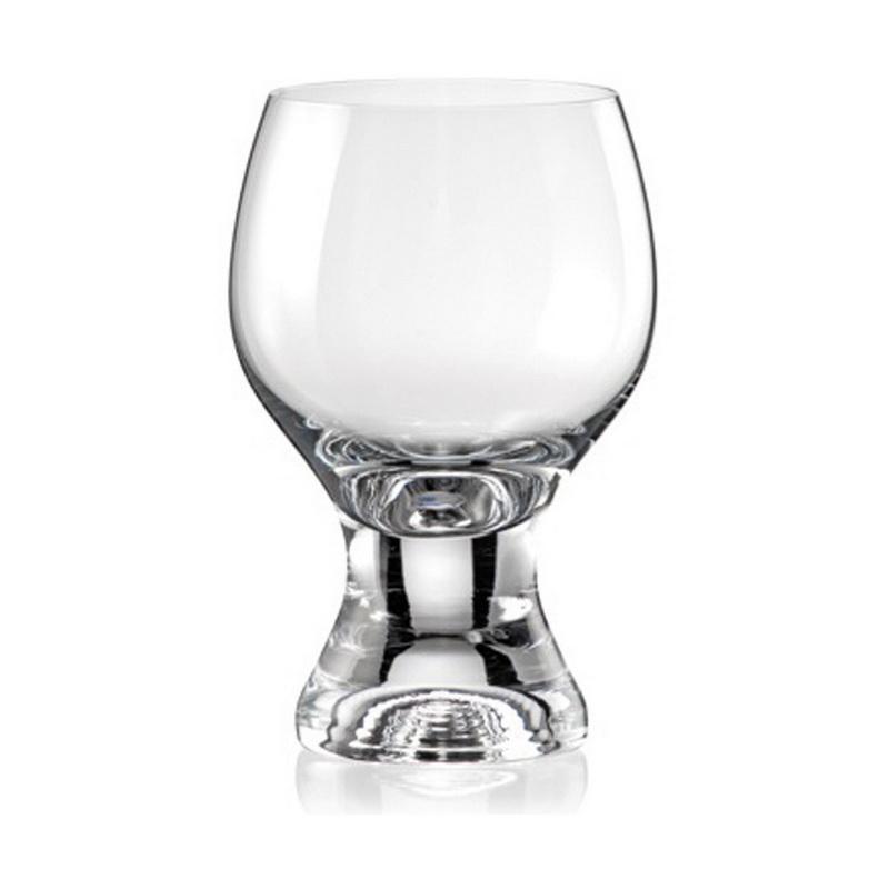 Набор бокалов для вина 6 шт 230 мл Gina Gold Bohemia