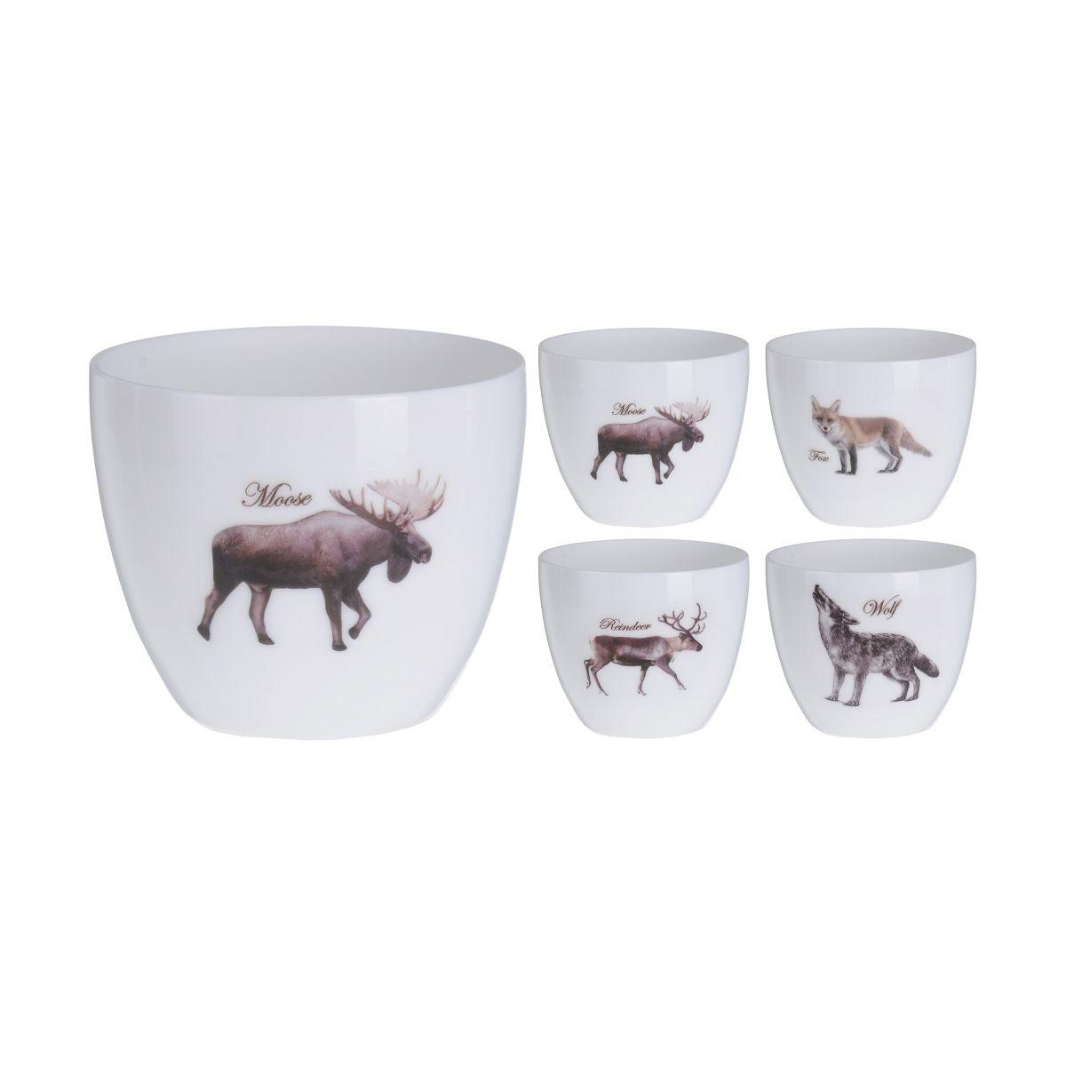 Подсвечник с декором Животные 7 см в ассортиментеподсвечник 7см с декором животные<br>