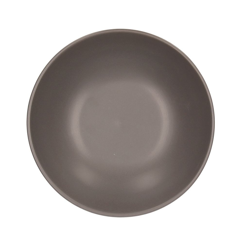 Тарелка суповая RUSTICAL ANTRACITE MATTТарелка суповая 20 см RUSTICAL ANTRACITE MATT<br>
