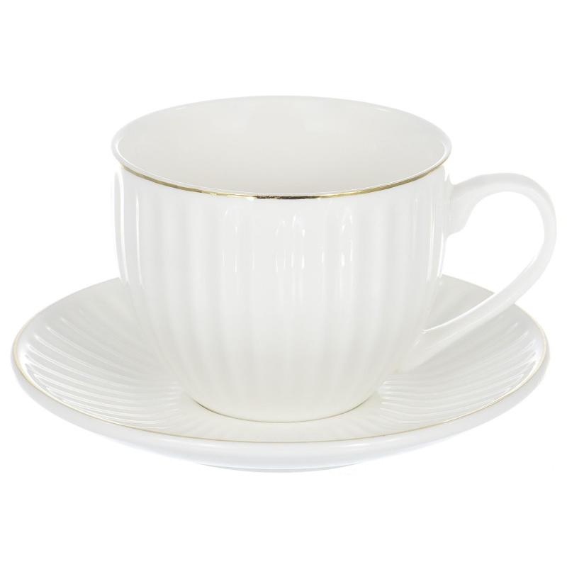 """Набор пар чайных 12 предметов Balsford """",Грация"""", костяной фарфор"""