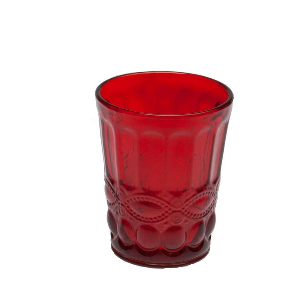 Стакан д/воды SOLANGE 265 мл красныйСтакан для воды SOLANGE - это образец изысканной формы и элегантного декора. Стиль и высокое качество качество - отличительные черты продукции Tognana.<br>