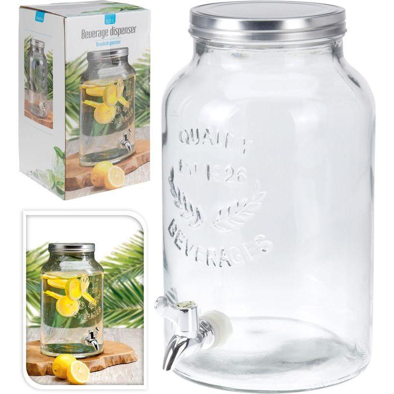 Банка для лимонада 5,5 л Excellent Houseware