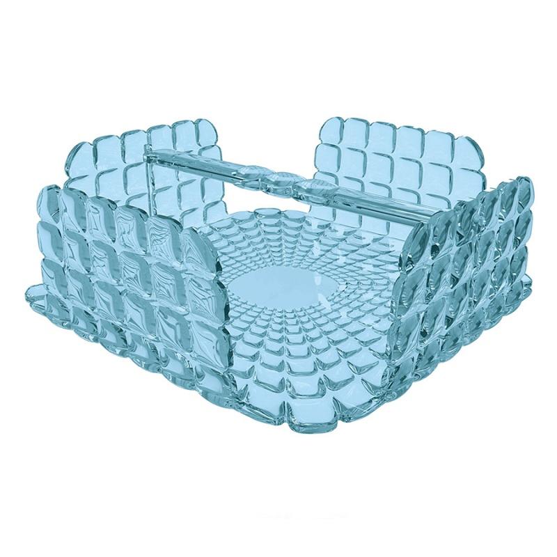 Салфетница квадратная Guzzini Tiffany голубая
