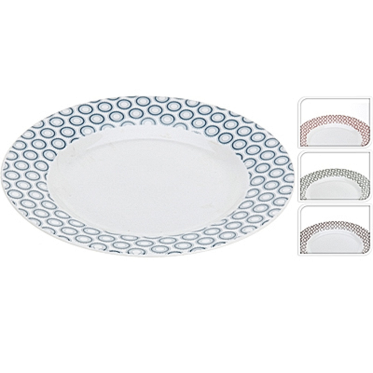ТарелкаExcellent Houseware производит посуду и различные предметы для дома. Тарелка - аксессуар повседневного использования. Хорошая тарелка - качественная, стильная, и помимо своей основной функции еще и доставляет эстетическое удовольствие. Внимание! Выбрать цвет заранее не представляется возможным.<br>