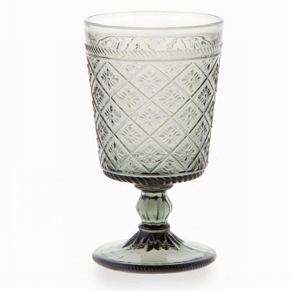 Бокал для вина 350 мл GLORIAБокал для вина имеет оригинальный дизайн и спокойный ненавязчивый цвет. Разбавьте  праздничное украшение вашего стола стильной посудой от фирмы Tognana.<br>