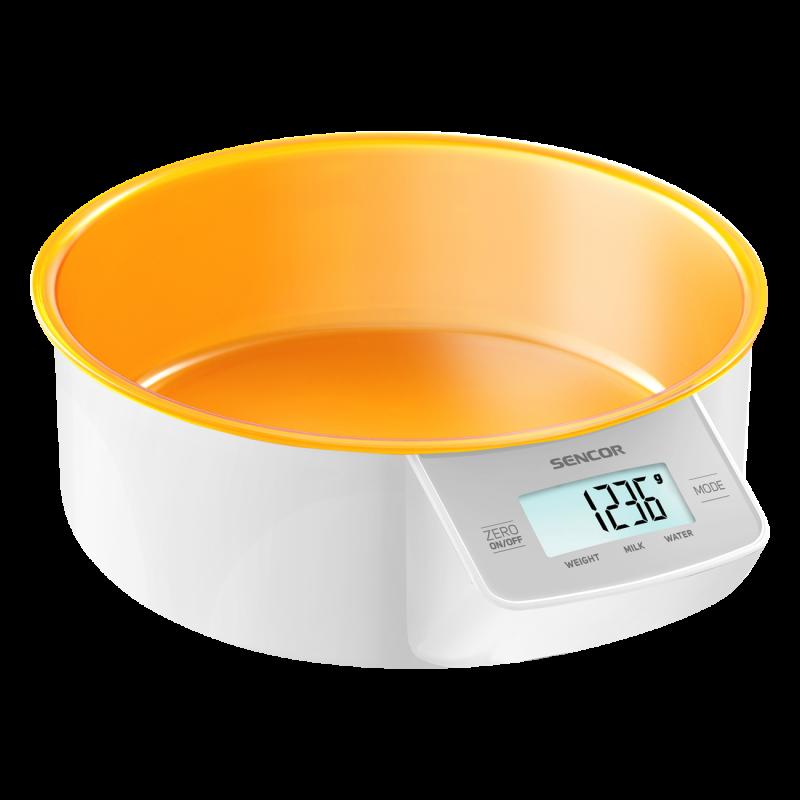 Весы кухонные Sencor оранжевые