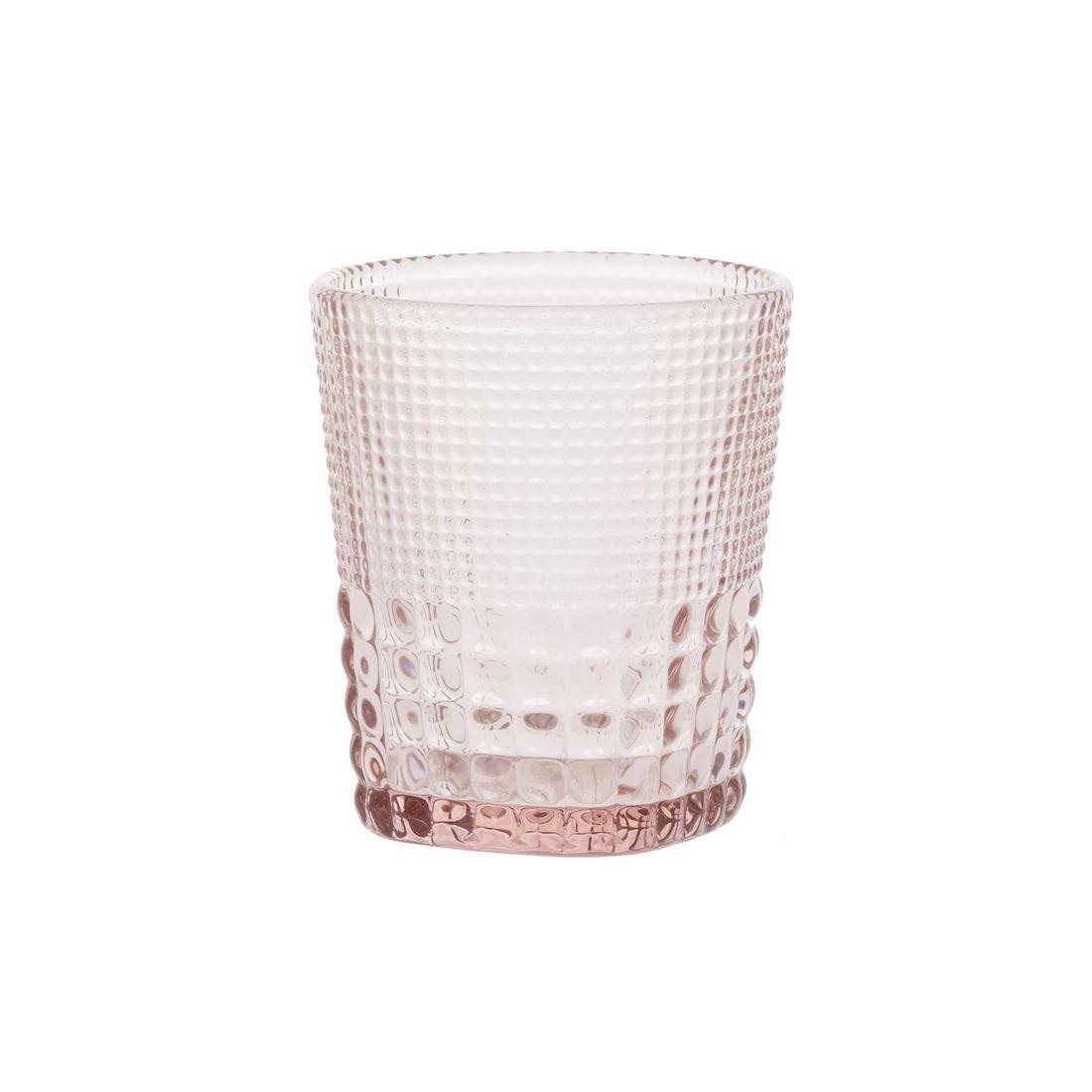 Стакан для напитков Royal drops, розовыйНе только полезным, но и красивым элементом сервировки праздничного и повседневного стола станет стакан для напитков Ройял дропс. Он создан компанией Магиа Густо и подходит практически для любых напитков – вина, чая, сока, воды. Стакан Ройял дропс изготовлен из розового стекла с рельефными насечками на стенках, что обеспечивает комфорт его использования. Форма изделия близка к цилиндрической, с небольшим расширением к верхней части. Стекло способствует сохранению температуры напитка и легко отмывается.<br>