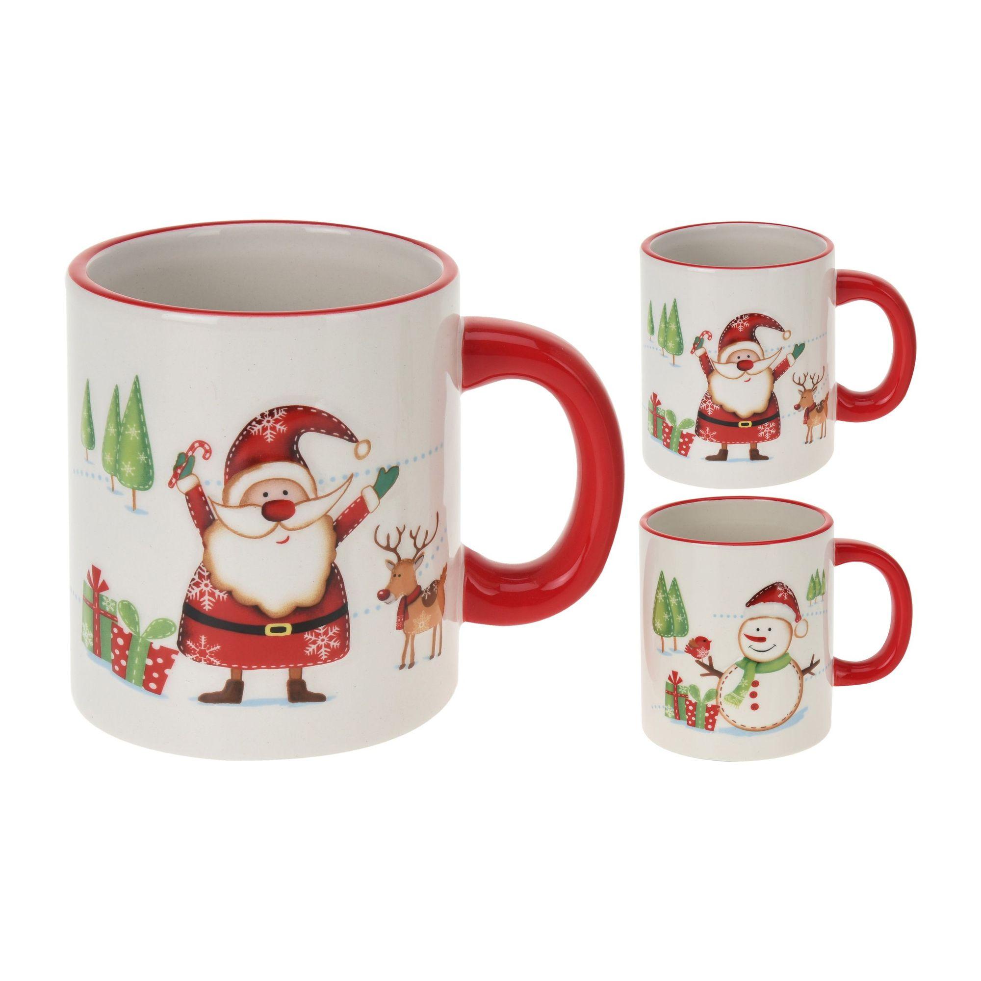 Кружка Санта и друзья в ассортименте<br>