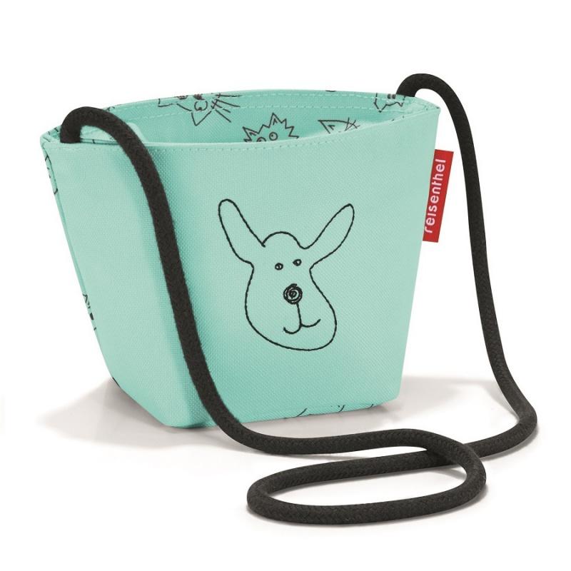 Сумка детская Reisenthel Minibag Cats and Dogs mint