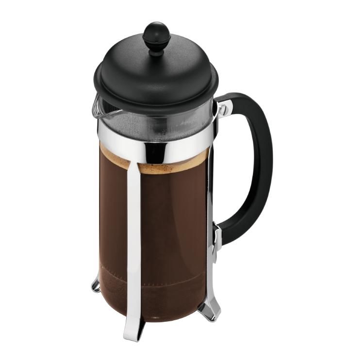 Кофейник френч-пресс Caffetteria 0,35 л черный
