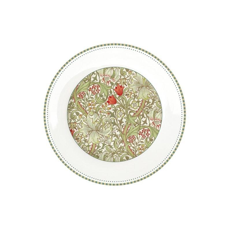 Тарелка закусочная 19 см Easy Life William Morris зелёный