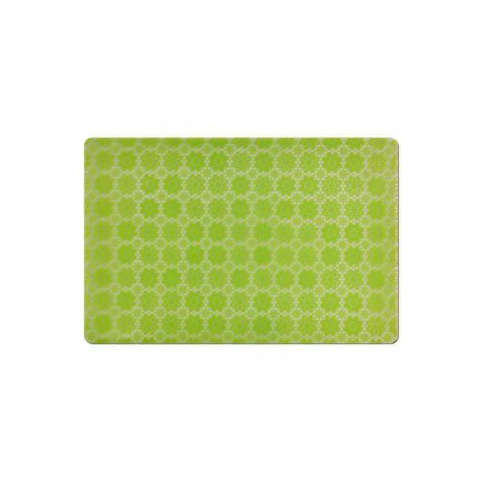 Подставка под горячее 43,5х28,5 см., зеленая зеленаяПодставка под горячее – это незаменимый элемент оснащения современной и комфортной кухни. Представленная модель изготавливается из специального пластика. Этот материал обладает устойчивостью к воздействию высоких температур, что позволит вам ставить на подставку кастрюли и сковороды, только что снятые с огня. Структура материала дает возможность для легкой очистки: подставку легко мыть при помощи губки и обычного средства для посуды.<br>