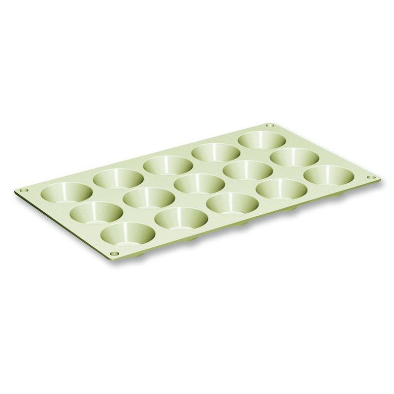 Силиконовая форма для выпечки мини-кексовФорма для выпечки мини-кексов обязательно пригодится хозяйке, чтобы порадовать домочадцев кондитерскими изысками и выпечкой. Кроме того, мини-кексы идеально впишутся в меню праздничного фуршета. Силиконовая форма по привлекательной стоимости устойчива к высоким температурам и подходит для выпекания в духовом шкафу. Изделие включает 15 мини-формочек. Форма для кексов от итальянского производителя Гудьюниотличается высоким качеством материала изготовления.<br>