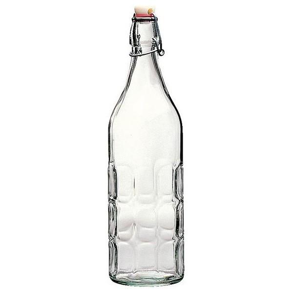 Бутылка с крышкой 1 лБутылка с крышкой Мореска прекрасно подойдет для хранения масла или уксуса. Имеет классический дизайн, прекрасно впишется в итерьер любой кухни. Легко мыть и хранить.<br>