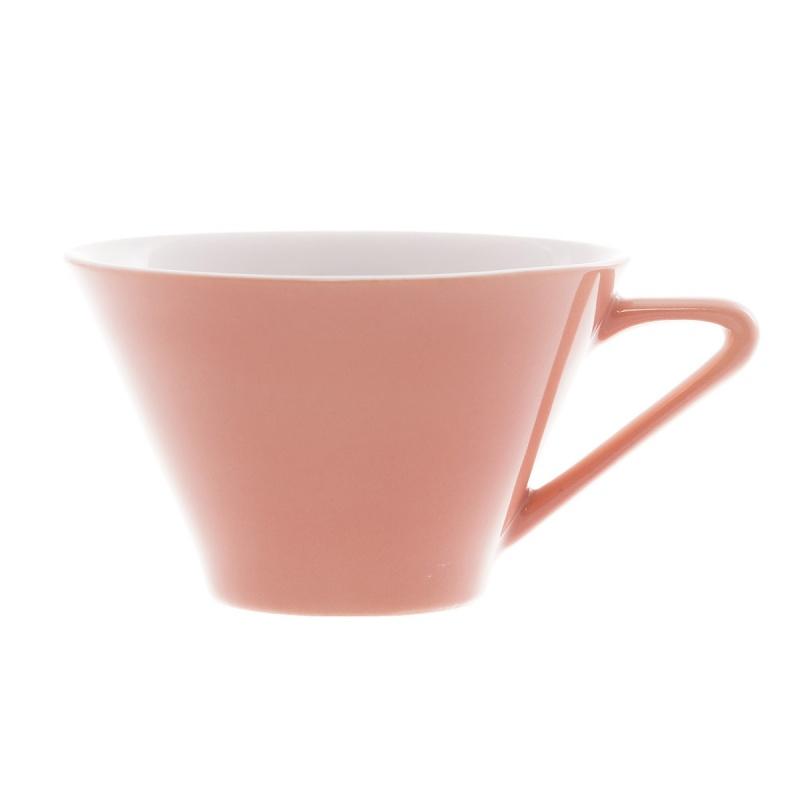 Чашка чайная Benedikt 180 мл фарфор розовая