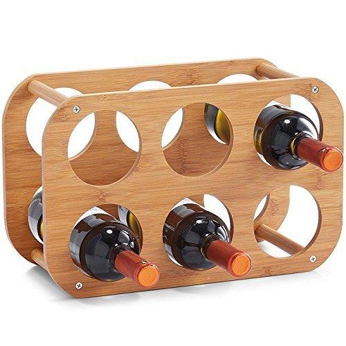 Подставка для бутылок Zeller бамбук