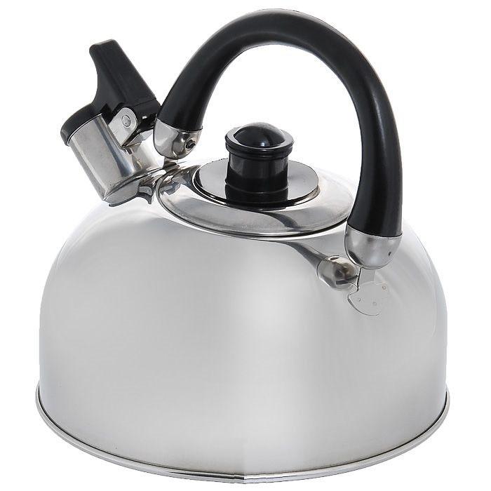 Чайник нерж.со св. 2,0 л   MK-2502Если вы хотите сделать вашу жизнь немного комфортнее, в этом вам поможет посуда от китайского бренда Appetite. Чайник из нержавеющей стали со свистком прослужит вам долгие годы и будет радовать своим дизайном и удобством.<br>