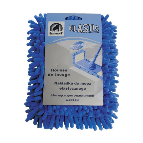 НАСАДКА ДЛЯ ШВАБРЫ ELASTIC УНИВЕРСАЛЬНОЙКомпания Inter-Vion появилась на рынке в 1991 году. Сейчас она является одним из крупнейших предприятий по изготовлению косметических продукции и товаров для дома. Насадка для швабры ELASTIC универсальная легко удаляет загрязнения на полу. Это очень полезная вещь в доме. Хорошо подходит для сухой и влажной уборки. После использования ее достаточно промыть водой и высушить.<br>
