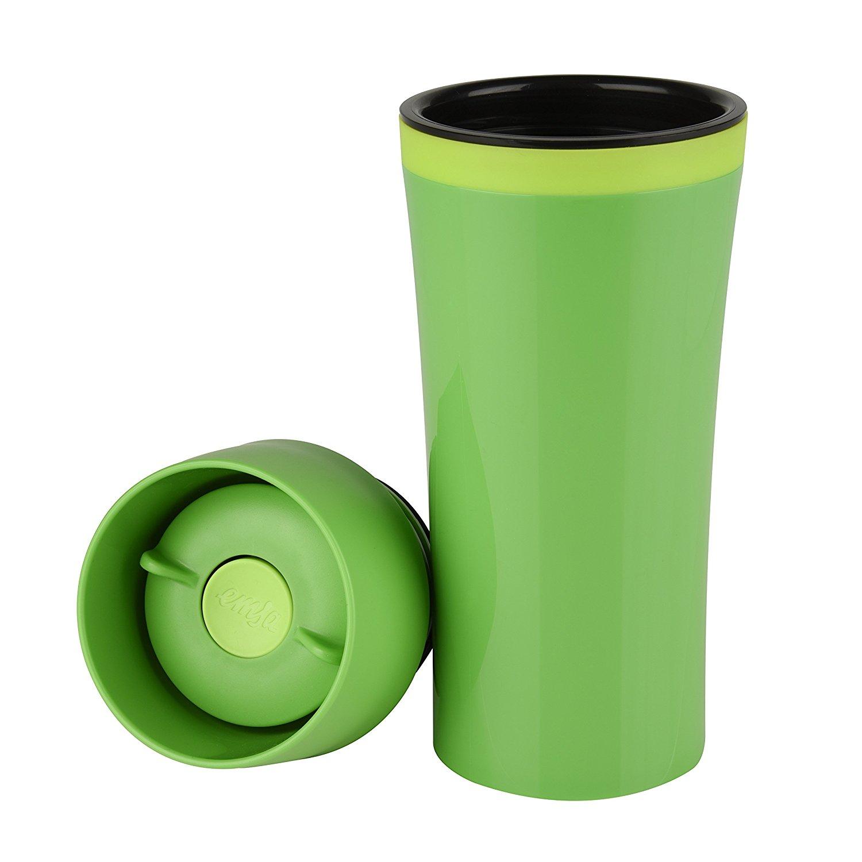 Термокружка TRAVEL MUG FUN 0,36л темно-зеленый/зеленыйГерметичность,удобство в использовании, способность держать температуру горячих напитков до 4-х часов, а холодных - до 8-ми, крышка легко снимается и моется - вот основные свойства этой кружки.<br>
