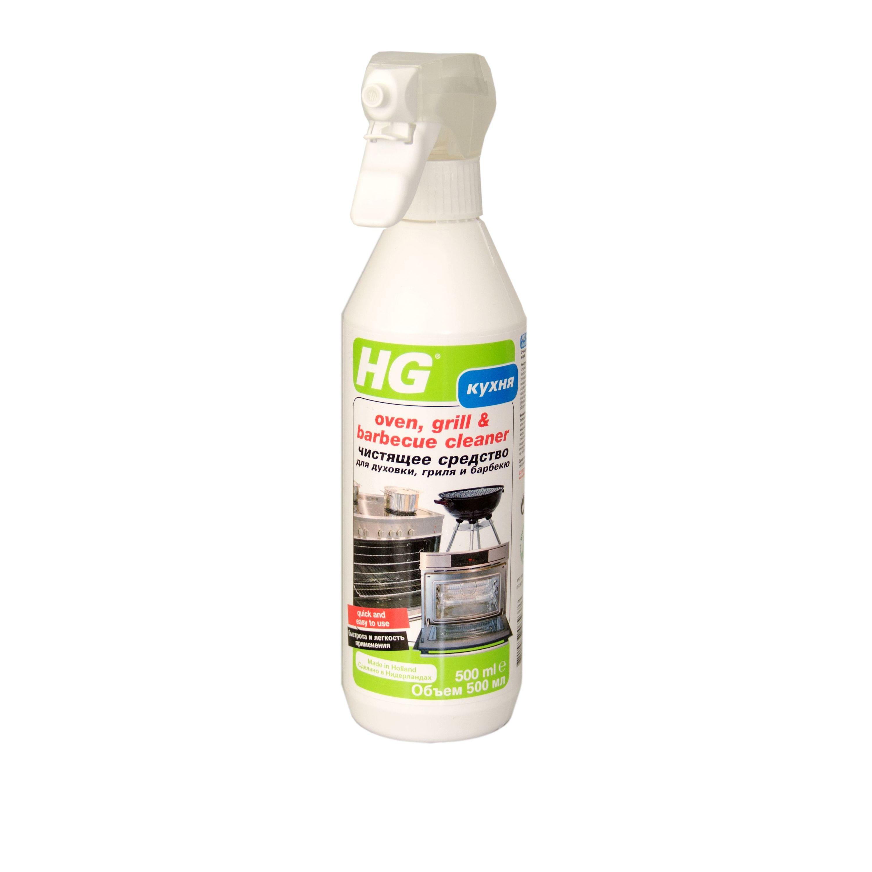 Чистящее средство для духовки, гриля, барбекю HG фото