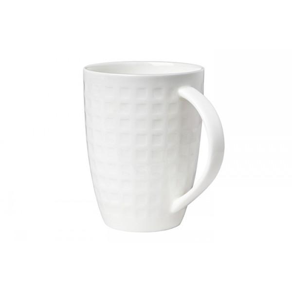 Кружка белаяКружка от Royal Aurel изготовлена из высококачественного костяного фарфора, имеет оригинальный стильный дизайн. Такая кружка станет неизменным атрибутом чаепития. Внушительный объем кружки, позволит вдоволь насладиться любимым напитком.<br>