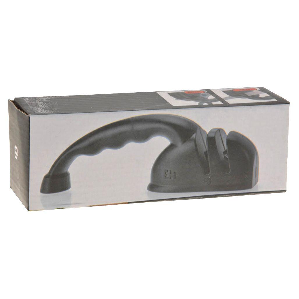 Точилка д/ножейТочилка для ножей от Excellent Houseware поможет вам профессионально заточить ножи и ножницы. Точилка имеет две камеры: одна для заточки ножей, вторая - для ножниц.<br>
