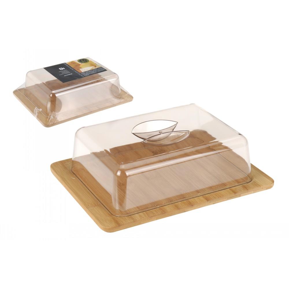 Доска для сыра с крышкой Excellent Houseware фото
