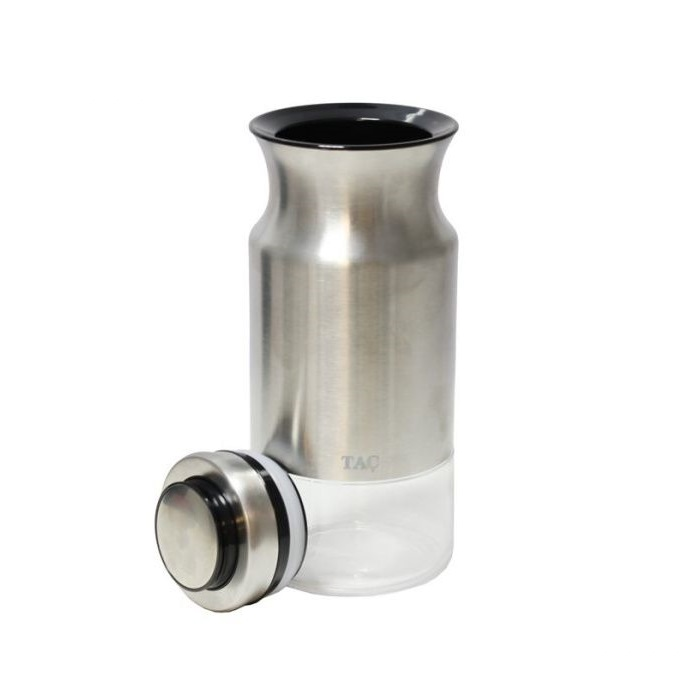 """Банка для сыпучих продуктов 1100 мл Bradex """"TAC"""" серебряная"""