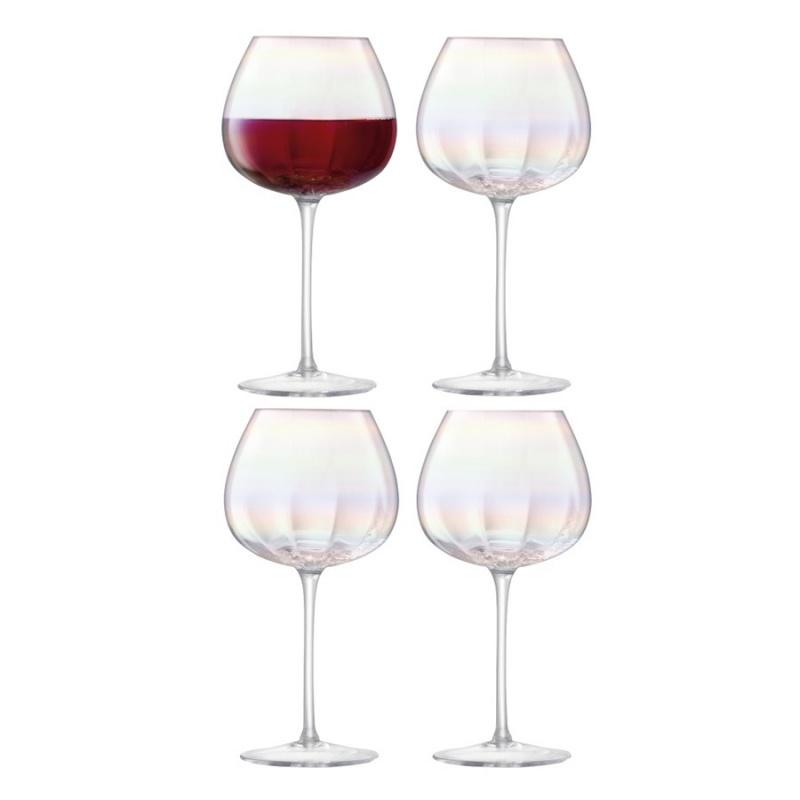 """Набор бокалов для красного вина 4 шт. 460 мл LSA International """",Pearl"""","""