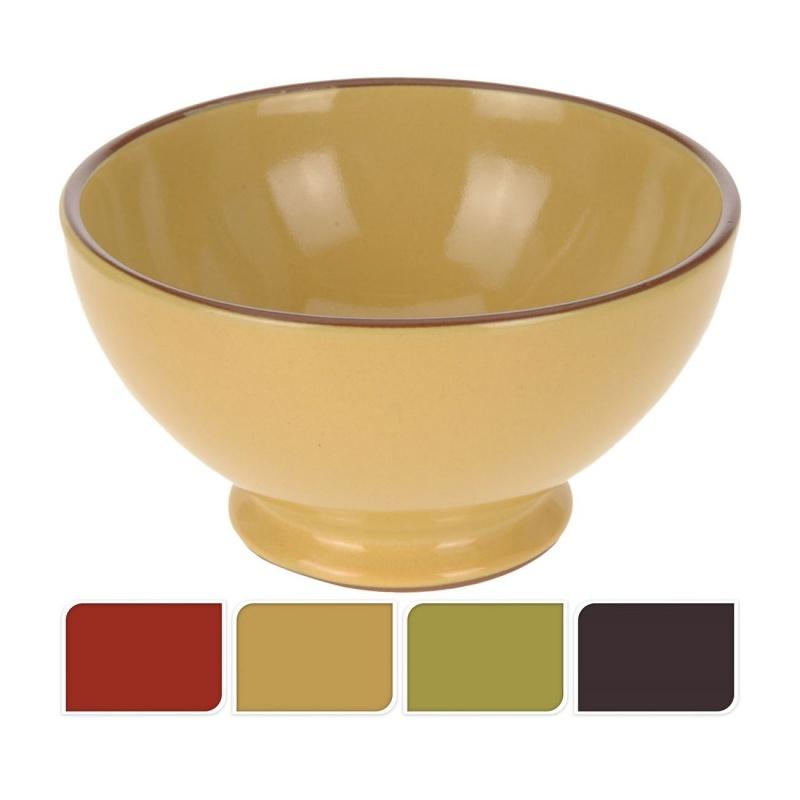 Миска керамическая 13*8 см в ассортиментеМиска, выполненная из экологичной и долговечной керамики, - это не просто функциональный предмет, но и стильный предмет кухонного интерьера. Изделие представлено в широкой цветовой палитре, что позволяет найти свою идеальную миску. Модель прекрасно подойдет для подачи супов или бульонов, сухих завтраков или различных салатов. Миска неприхотлива в уходе и легко моется, к тому же ее можно очищать в посудомоечной машине.<br>