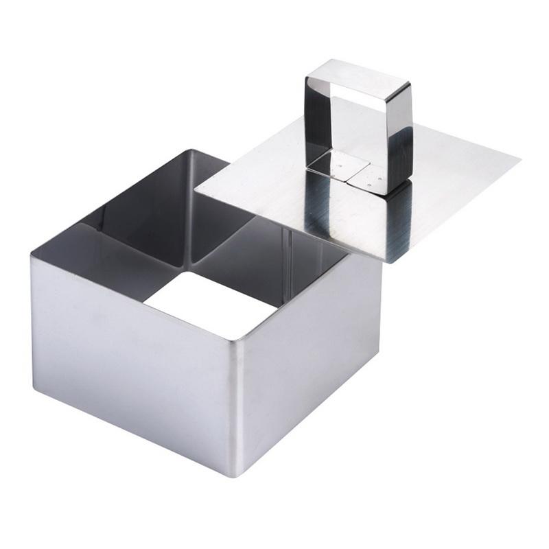 Кондитерская форма с прессом квадратная 8*8*5,5смКондитерская форма с прессом, выполненная в классической геометрической форме, даст возможность хозяйке стать хорошим специалистом в выпечке, создавая кулинарные шедевры. Это приспособление выпущено производителем Гудьюни, для его изготовления использовали качественный металл. Стальная кондитерская форма стойкая к ржавчине, имеет долгий срок службы, не боится перепадов температуры. В ней процесс выпекания происходит быстро за счет хорошей теплопроводности. Изделие комплектуется прессом, к основе которого прикручена удобная ручка. Форма очень легкая и прочная, позволяет испечь сдобные изделия за короткий промежуток времени. Благодаря компактным размерам данного инвентаря, ему всегда найдется место у любой хозяйки, т. к. свободно вместится в кухонный шкаф.<br>