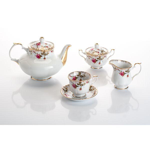 Чайный сервиз на 6 персон Шиповник<br>